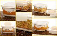 Lengkapi Piknik dan Hantaran Anda dengan Porcelain Container