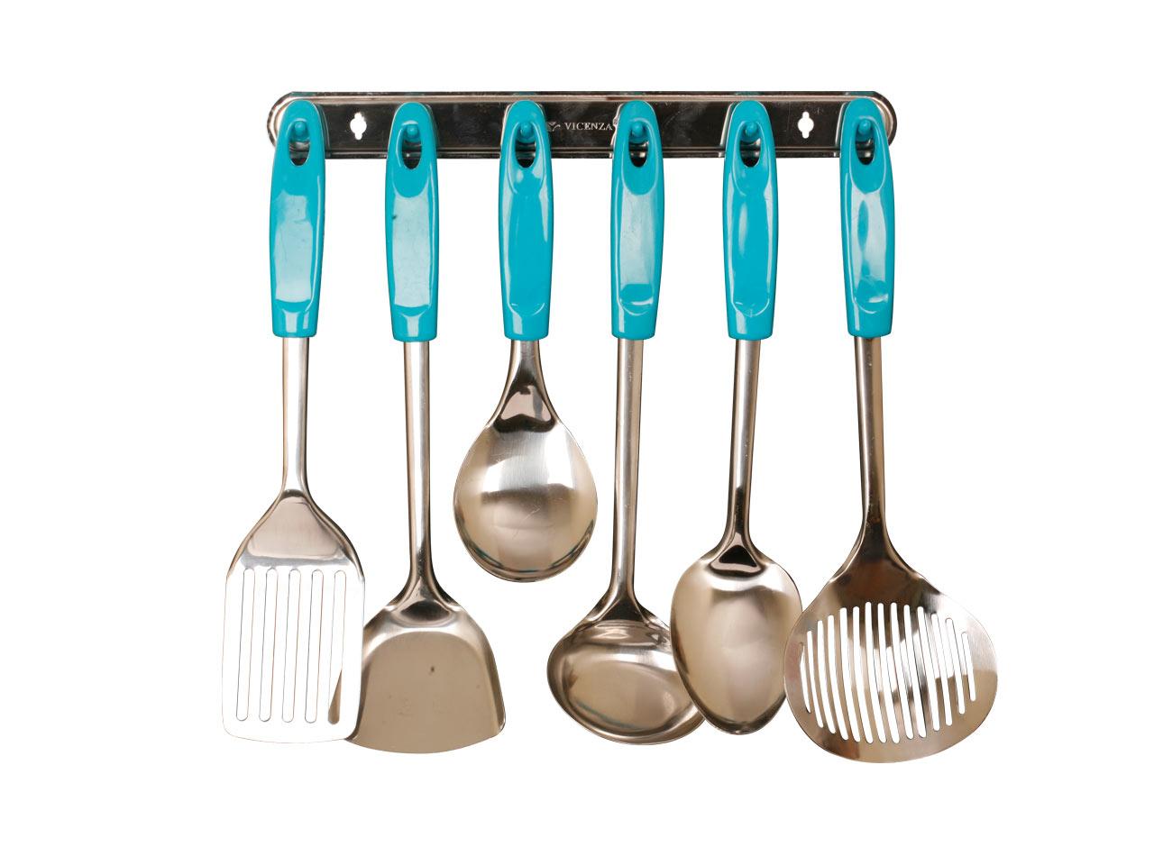 Vicenza Kitchen Tools S Vk915c 7 Buah Hijau Daftar Harga Terbaru Sodet Nylon Am 0378